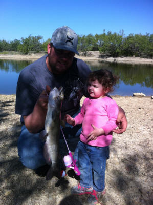 Channel Catfish- Gracies first catch
